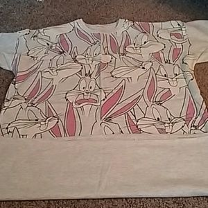 Other - Vintage Bugs Bunny night shirt